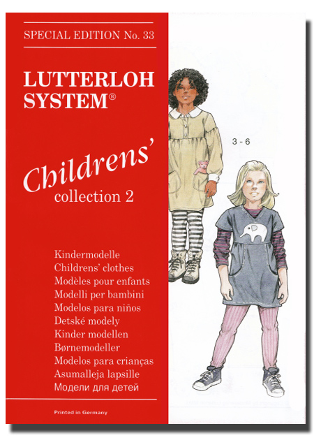 Wykroje krawieckie - Edycja dla dzieci Nr 33